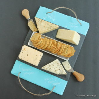 Slate Cheese Tray