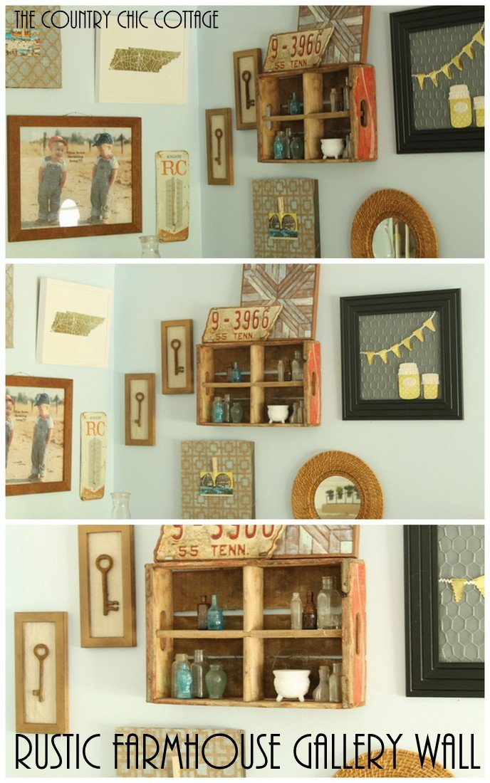 Rustic Farmhouse Gallery Wall Mintedart The Country