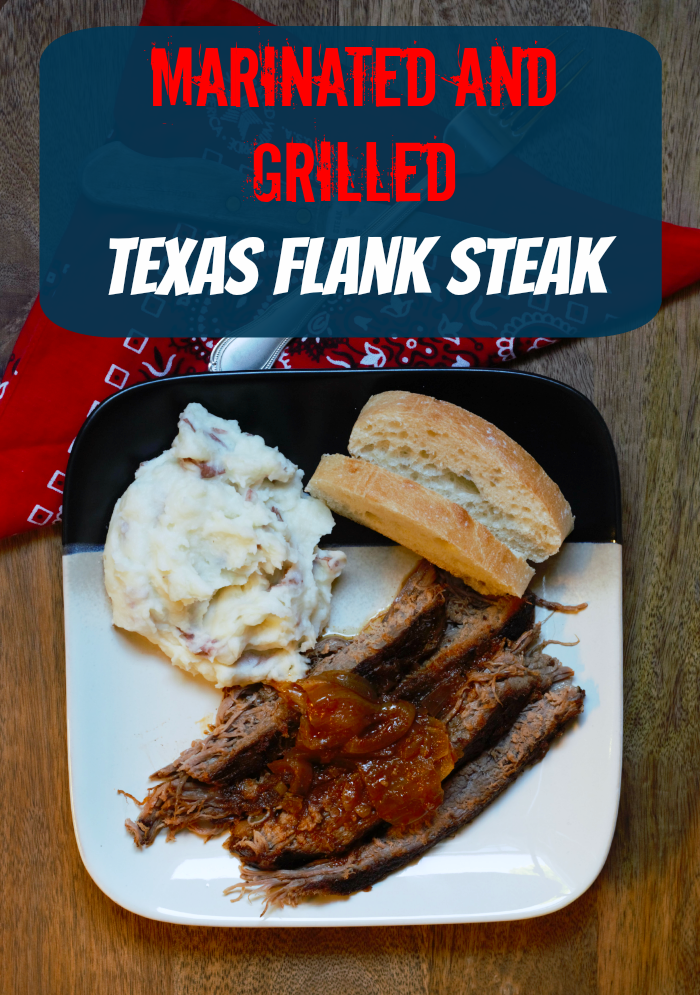 Grilled Marinated Flank Steak - The Country Chic Cottage