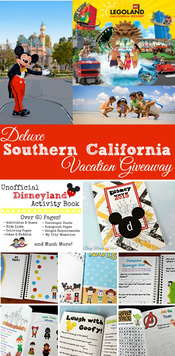 Win a deluxe southern California vacation!