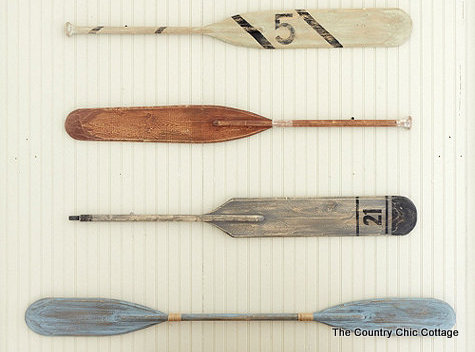 Ballard Knock Off Oars -- recreate the catalog look for your home in a few simple steps.