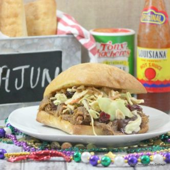 Cajun Pulled Pork Recipe - try this spicy take on a classic!