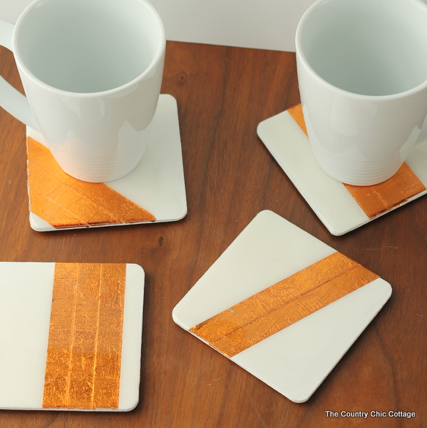 diy ceramic coaster