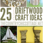 25 Driftwood Crafts for your Nautical Home Decor