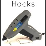 10 Amazing Household Hacks using your hot glue gun! Did you know about the ideas on this list?