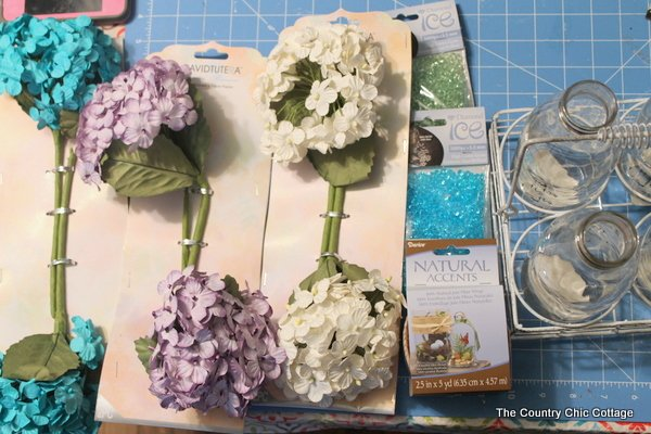 Paper Flower Centerpiece - The Country Chic Cottage