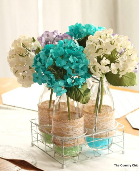 Make this paper flower centerpiece for your home, wedding, party, or other event in just minutes!