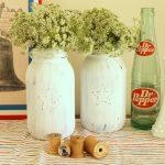 patriotic mason jar vases-014