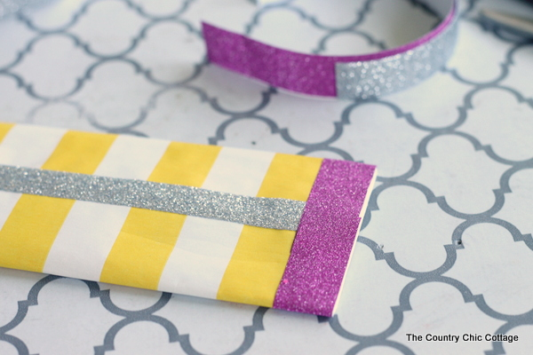 Pencil gift bag for back to school or any school function! So easy to make and so cute!