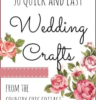 50 Quick Wedding Crafts