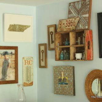 Rustic Farmhouse Gallery Wall #MintedArt