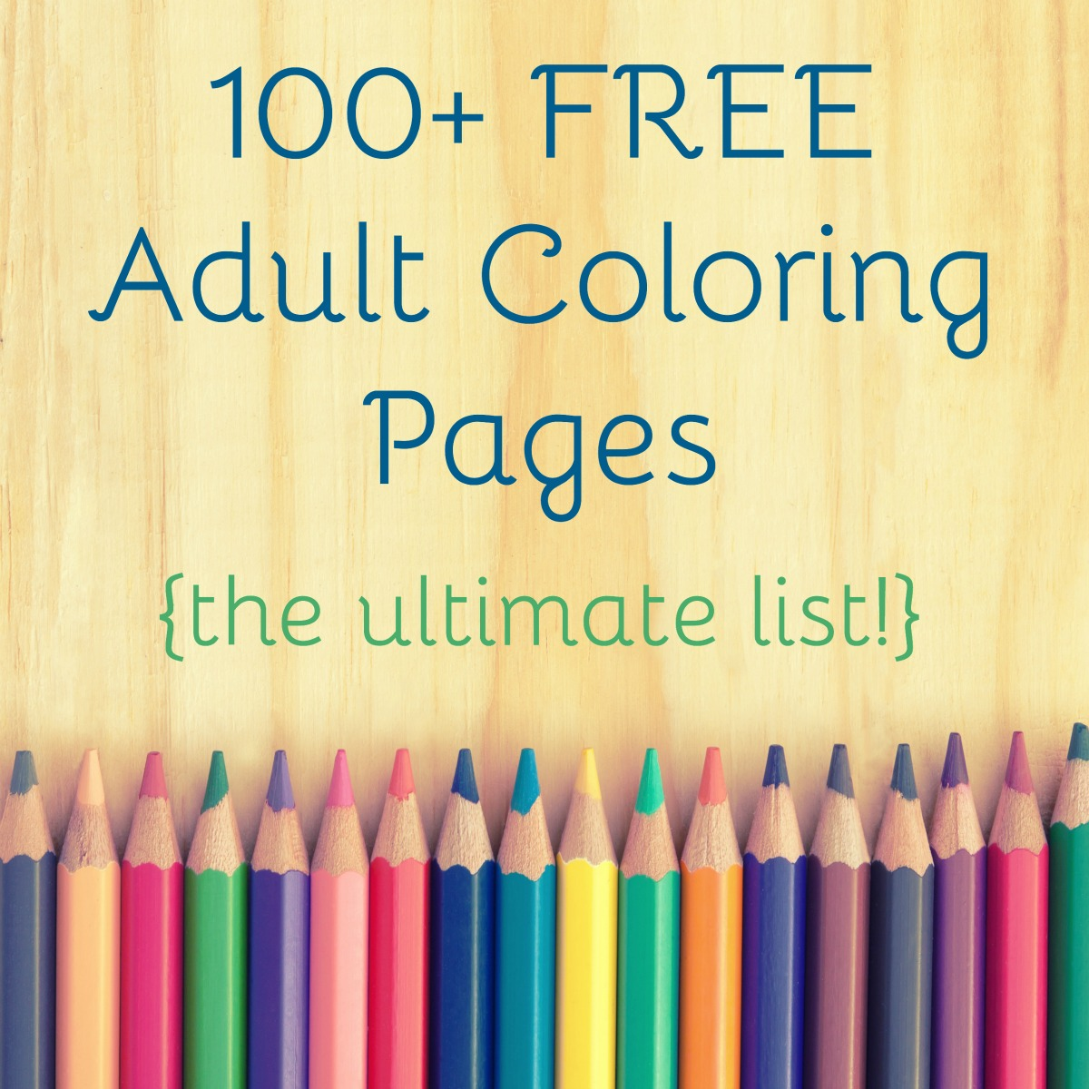 25 FREE Adult Coloring Pages - The Country Chic Cottage