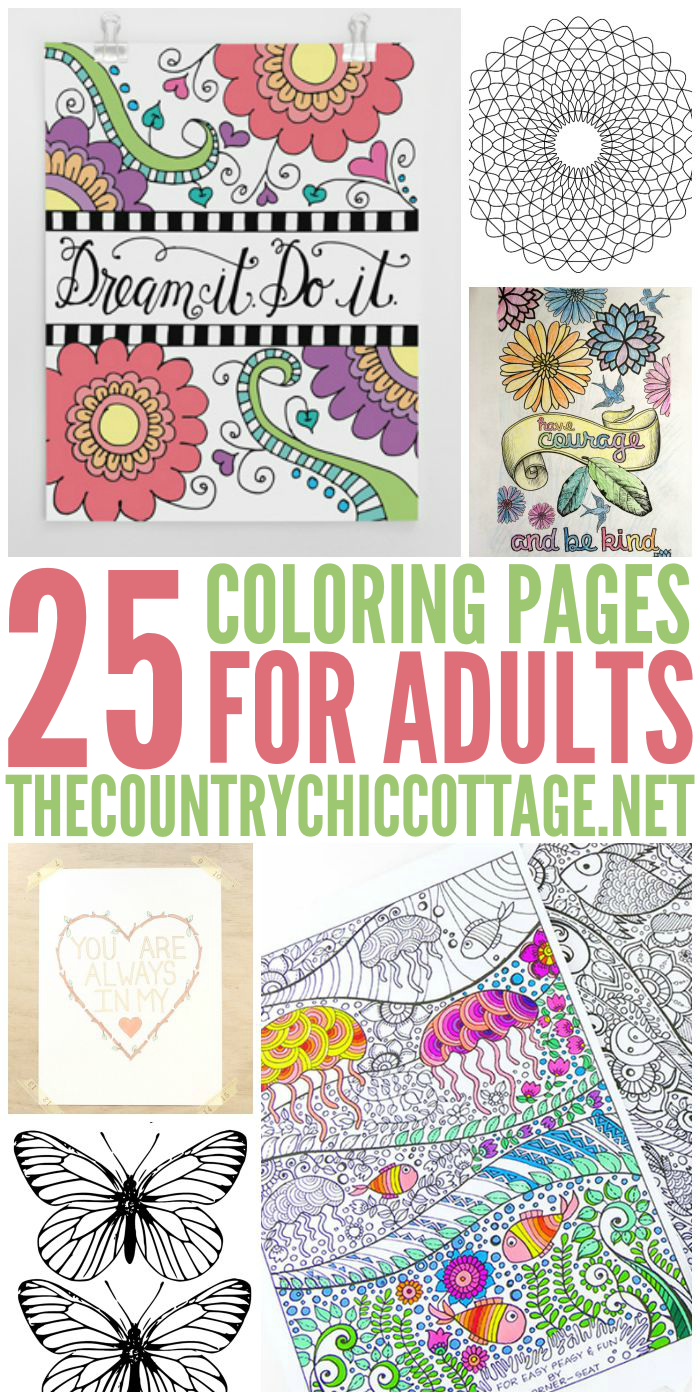 Free coloring pages com printable - Get 25 Free Coloring Pages For Adults That You Can Print From Home
