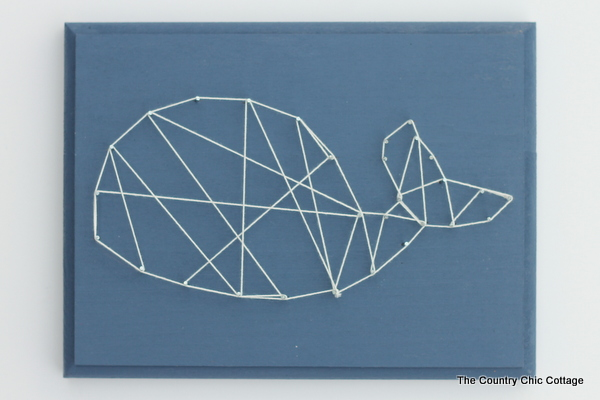 how to make string art step by step
