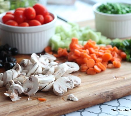 For a great summer supper -- serve up your own salad bar! Great tips and tricks for what to serve and how to do it on a budget!