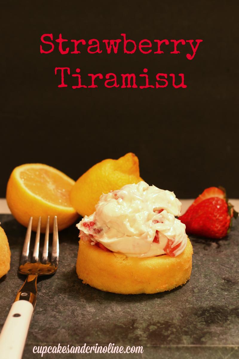 strawberry tiramisu  cupcakesandcrinoline.com