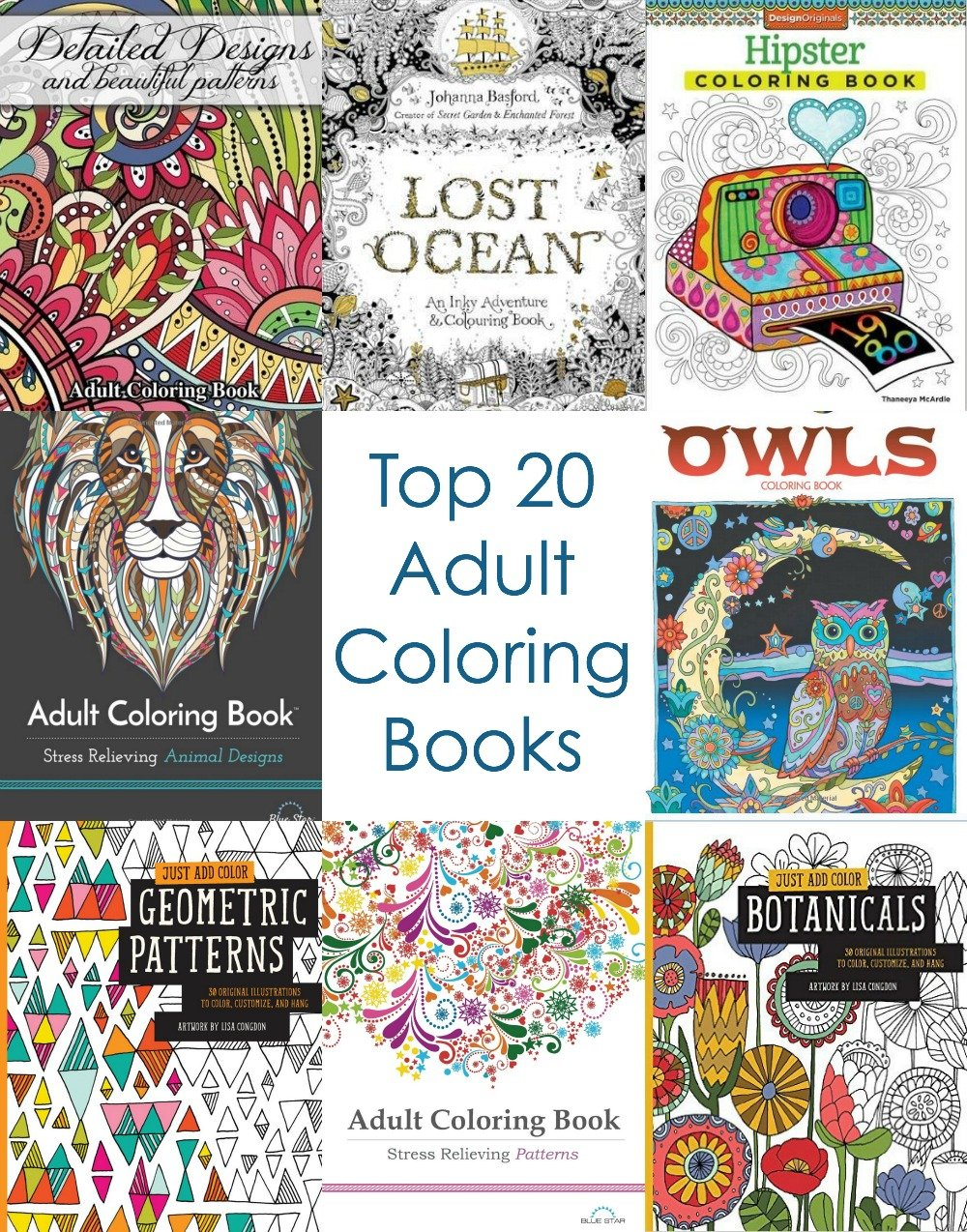 Adult Coloring Books To Buy
