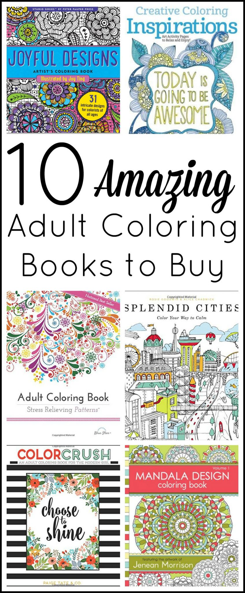 Adult Coloring Books To Buy The Country Chic Cottage