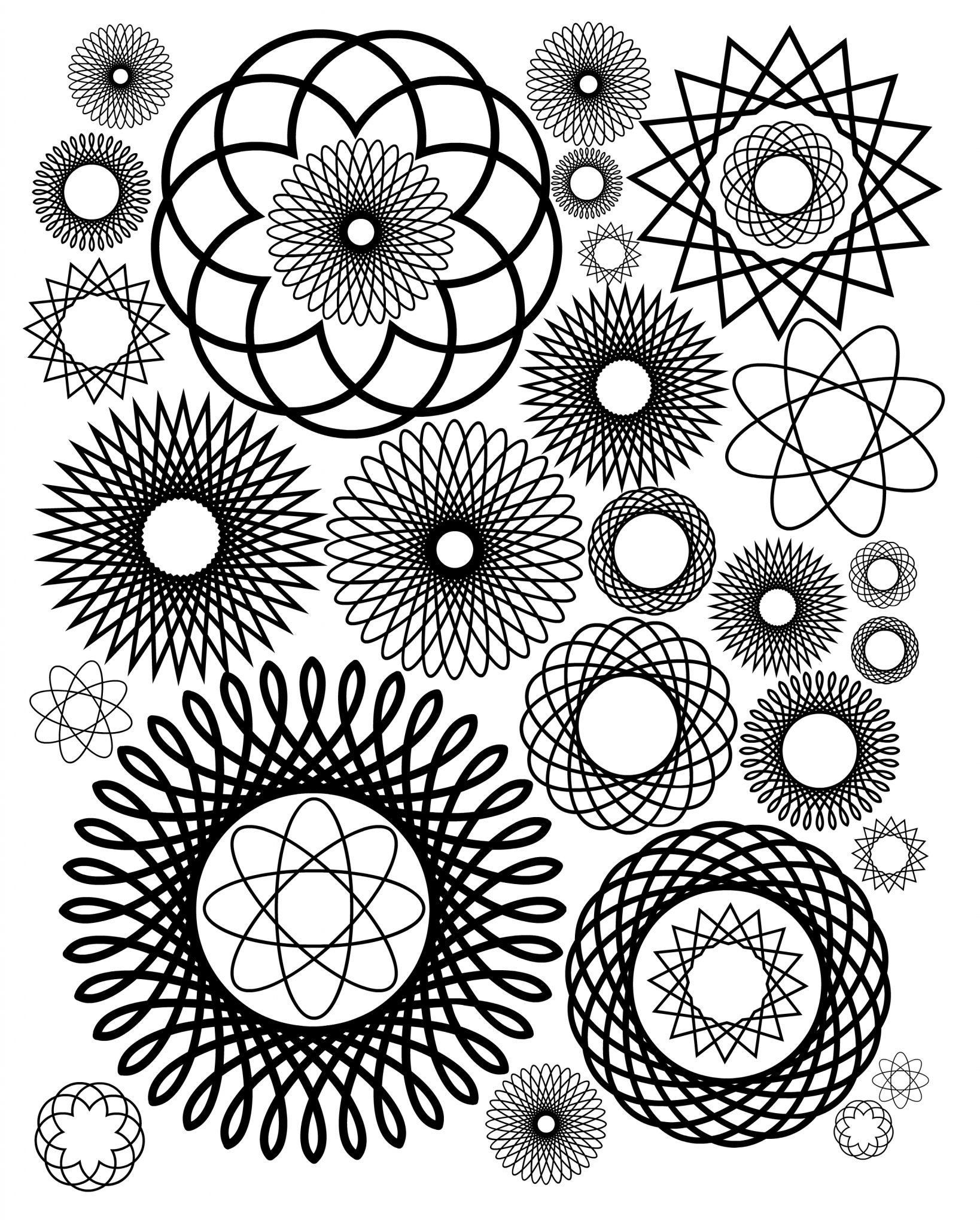 get free adult coloring pages to download at the country chic cottage - Coloring Pages For Paint Program