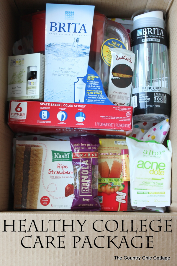 Send a healthy college care package to your new college student this semester!