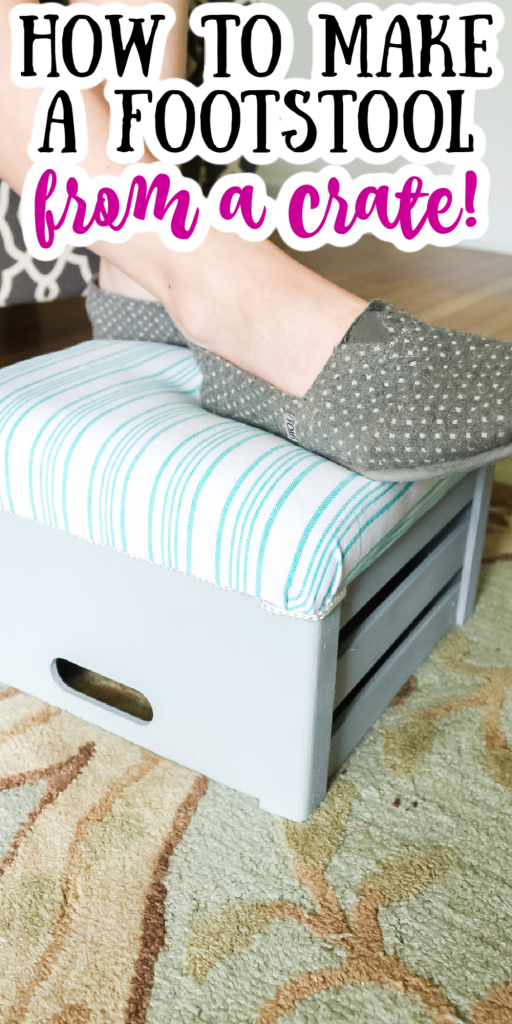 how to make a footstool