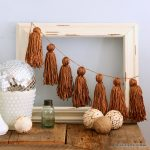 Make this yarn tassel garland for your home by following these step by step instructions!