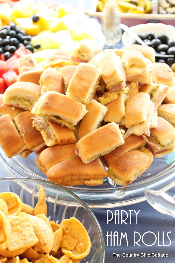 party ham rolls recipe