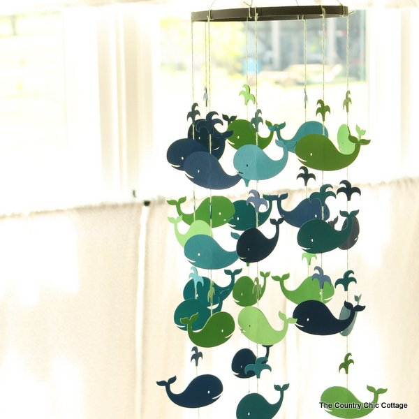 easy diy hanging baby mobile