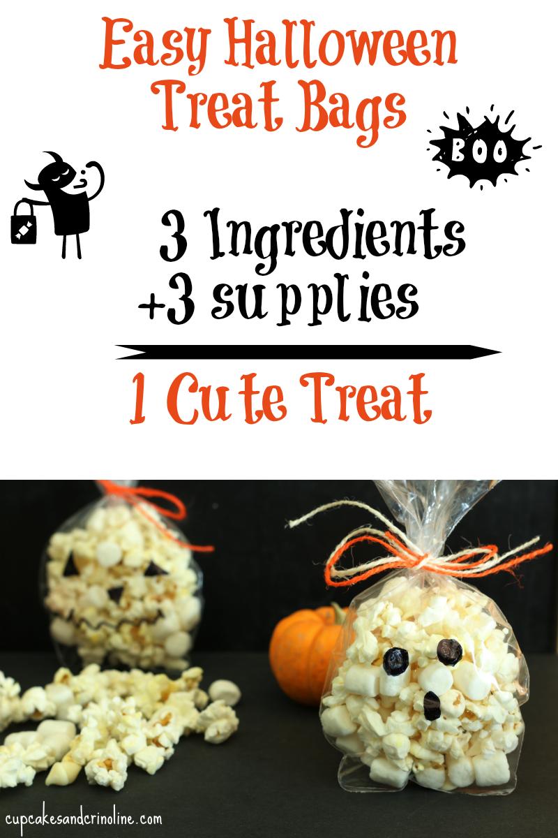 Easy Halloween Treat Bags from cupcakesandcrinoline.com