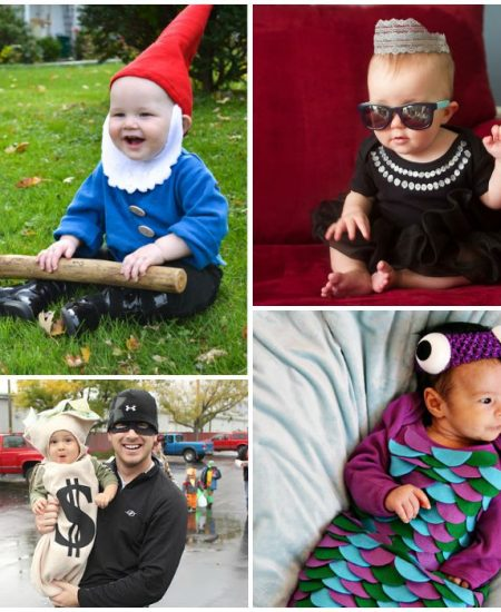 DIY Halloween costumes for baby -- these ideas are too cute!