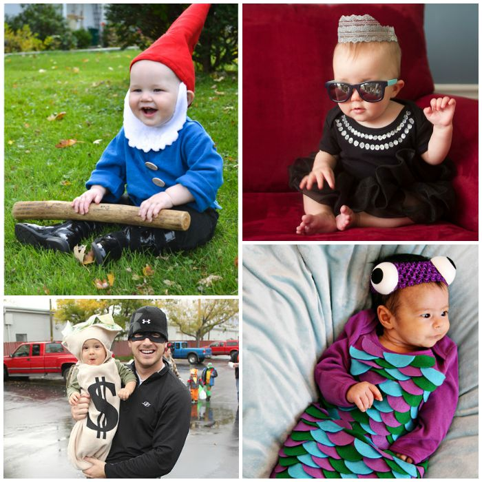 diy halloween costumes for baby these ideas are too cute - Diy Halloween Baby Costumes