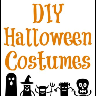 100 DIY Halloween costumes -- great ideas for every age!