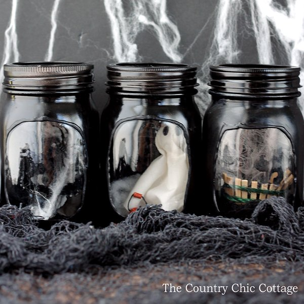haunted house jars