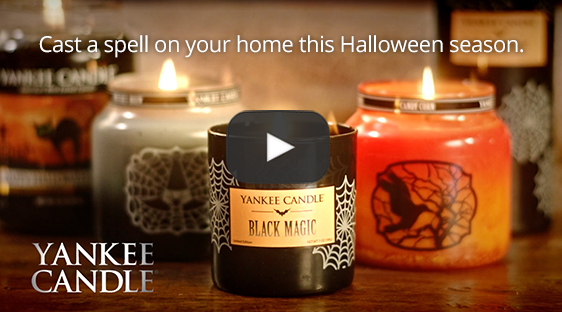 Watch video to receive a Yankee candle coupon!  receive a buy 1, get 1 free coupon for any large candle that may redeemed in-store or online!