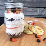 Candy corn cookie jar gift