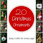 20 DIY Christmas Ornaments Free Download