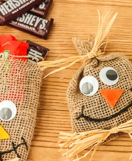 scarecrow bags for halloween