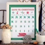 Print this free Christmas countdown calendar and countdown the days until Christmas! Perfect if you usually do an advent calendar!