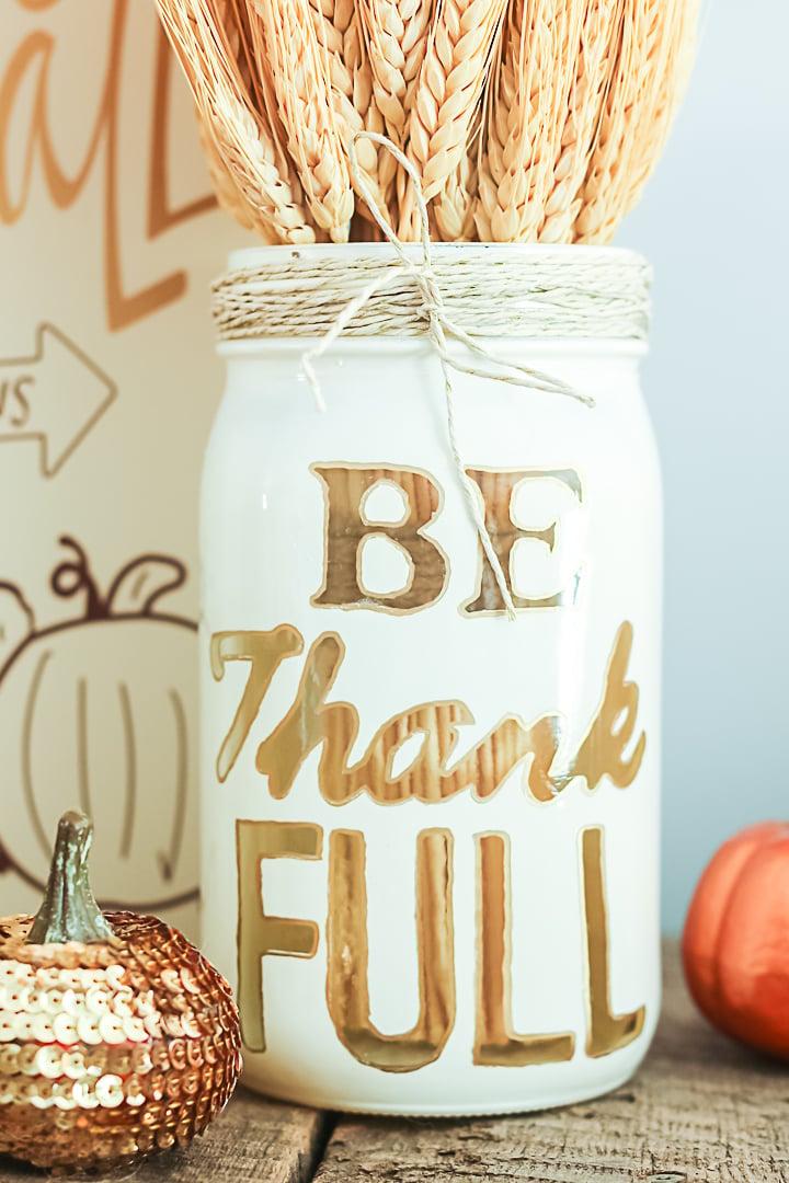 mason jar thanksgiving centerpieces