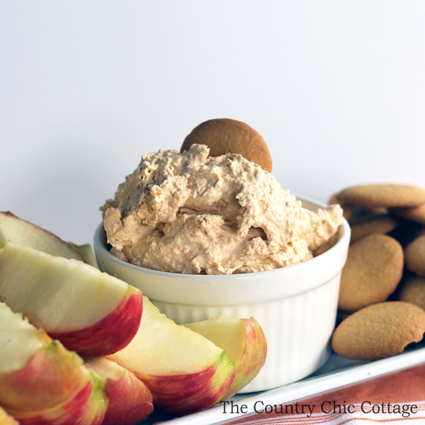 Make this pumpkin pie dip recipe for fruit, cookies, crackers, and more! A great way to celebrate fall!