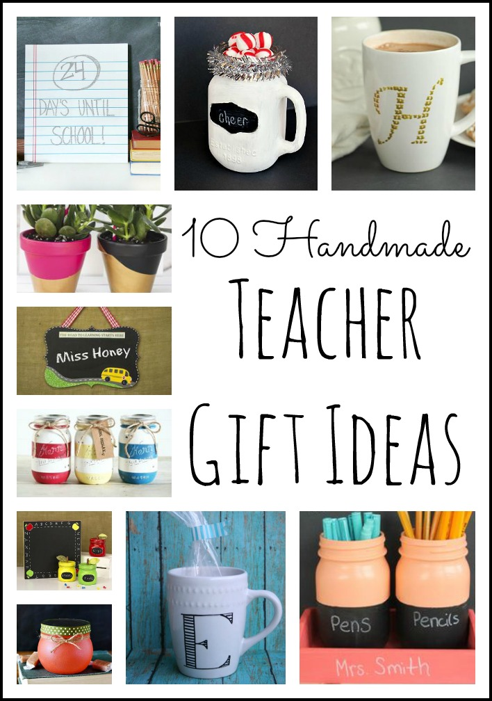 handmade gifts for teachers from students 10 handmade gift ideas the country chic cottage 2398
