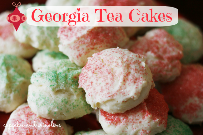 Georgia Tea Cake Cookies