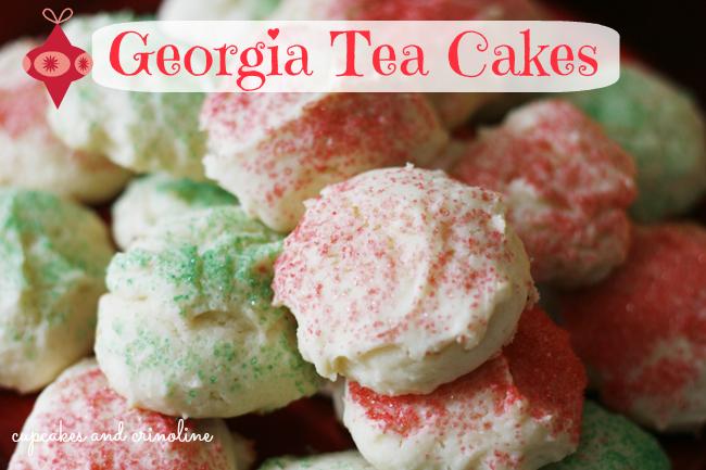 Georgia Tea Cake Cookies
