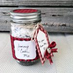 Pretty Plaid Mason Jar Gift