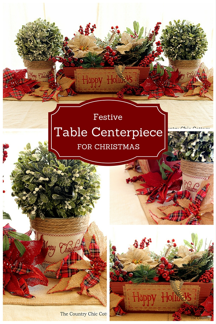 Primitive Kitchen Table Centerpiece