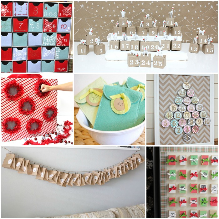 Make an advent calendar for your kids this Christmas with these great ideas! I love using a countdown calendar for the holidays!