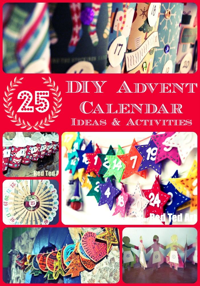 Advent Calendar Ideas Early Years : Mason jar advent calendar the country chic cottage