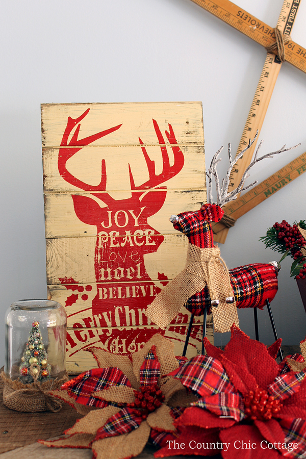 Christmas Mantel Decorating Ideas The Country Chic Cottage – Christmas Mantel Decorating Ideas
