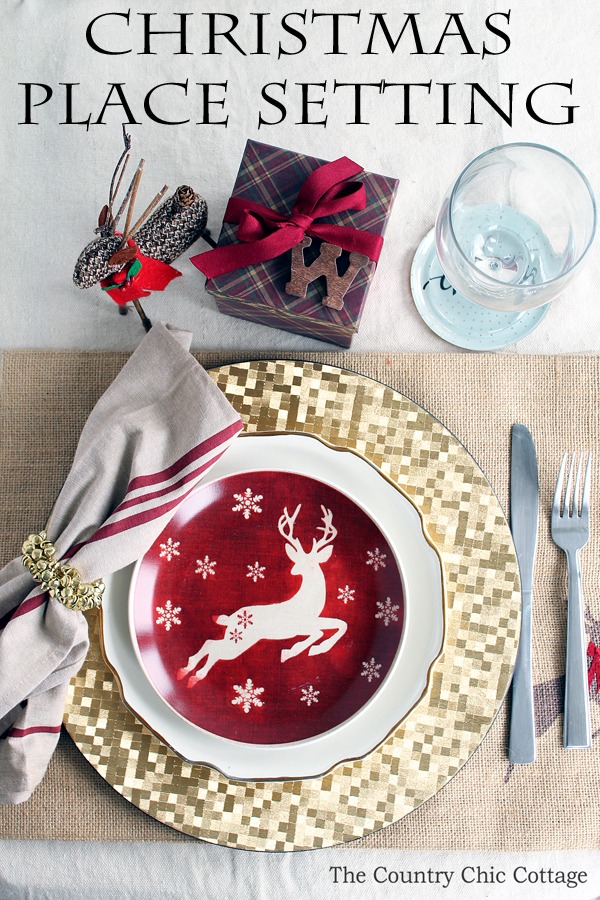 Superb A Gorgeous Christmas Place Setting For Your Holiday Meal. Get Everything  You Need With One
