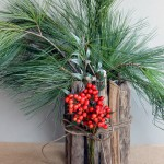 How to make a driftwood base and use it for the holidays!